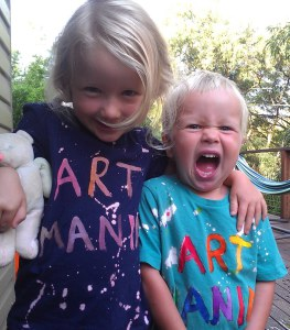 Baby and Toddler Art Class